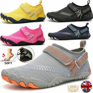 Ultraleichte Laufschuhe Wasserschuhe Laufschuhe Mode Sportschuhe Barfußschuhe UK