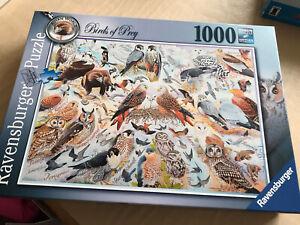 Ravensburger Jigsaw Puzzle, 1000 Pieces, Birds Of Prey. VGC