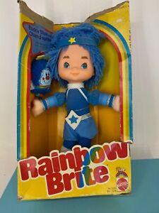 Vintage Rainbow Brite - 1983 - Buddy Blue with Sprite Champ