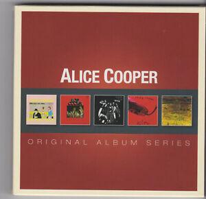 Alice Cooper - Original Album Series - 5 CD's neuwertig