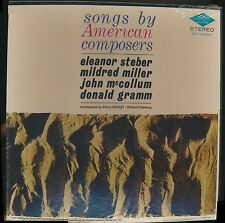 SONGS BY AMERICAN COMPOSERS DESTO 6411-6412 LP SEALED BOX