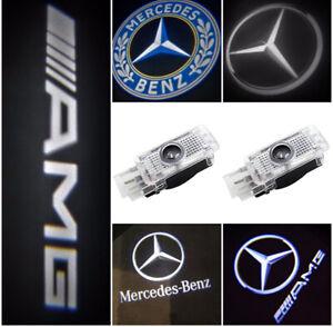 Willkommen Laser Projektor TürLicht Logo Licht Cree LED Lampe für Mercedes Benz