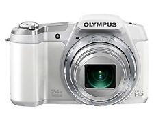 Olympus Digital Camera Stylus Sz-16 1600 Megapixel Cmos Optical 24X White USED