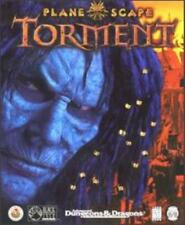 Planescape Torment + Manual PC CD monster dungeons dark role-playing game! 4CDs