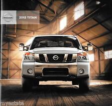 2012 12  Nissan Titan original sales brochure