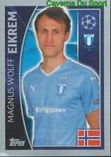 70 MAGNUS WOLFF EIKREM  NORWAY MALMO FF STICKER CHAMPIONS LEAGUE 2016 TOPPS