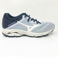 Mizuno Womens Wave Inspire 16 411162 570D Gray Black Running Shoes Size 8