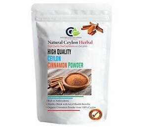 Ceylon Cinnamon powder Organic Pure Natural Sri Lanka High quality 100g - 400g