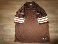 Cleveland Browns NFL Puma Blank Football Jersey 2XL 2X mens