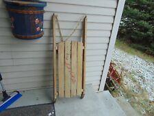 vintage,  wooden   SLEIGH   nice   #   5267