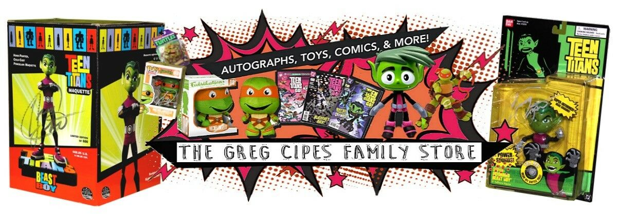 The Greg Cipes Family Store
