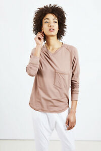 Sunday in Bed - Shirt USA mauve - Gr. M - SALE-