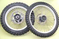 1991 90-91 CR250R CR250 Front Rear Wheel Set Hub Rim Spokes Tires Complete