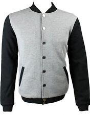 Eleven Paris Men's Varsity Jacket Grey (EPJK032)