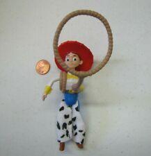"JESSIE TOY STORY 4.75"" PVC Woody's Roundup Figure DISNEY PIXAR Cake Topper 1999"