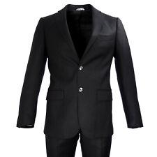 KRIZIA UOMO Black Two-Button 2-Piece Wool Suit A5002 IT Sz 48 $628 NWT