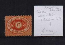 !  Austria 1866-1867.  Stamp. YT#1 . €500.00 !