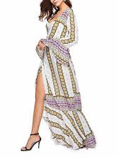Vestito Lungo Maxi Copricostume Donna Woman Flower Maxi Spring Dress 110348 P