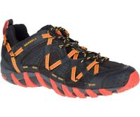 Merrell Waterpro Maipo Shoes Men's - Black / Hot Coral J12627