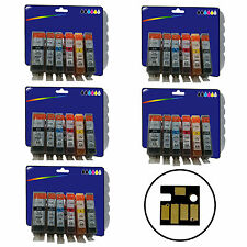 30 Inks for Canon MG6150 MG6250 MG8150 MG8170 MG8250 non-OEM 525/6 GY