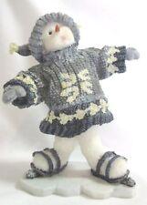 Boyd'S Bears Figurine Triple Clutz Bear 2003 #36529 Snow Dooodes