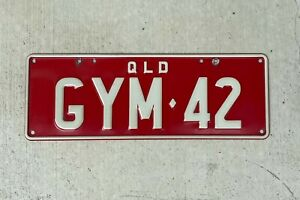 """GYM 42 """"GYM FOR TWO"""" Personalised Number Plates 