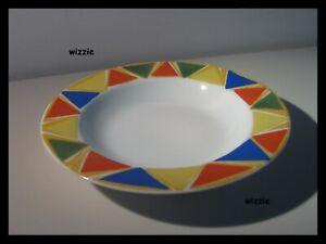 Alessi COMBO-2050 Four La Bella Tavola Porcelain Dinner Plates Off-White 27 cm