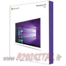 WINDOWS 10 PROFESSIONAL ESD + ADESIVO + DVD PRO 10.1 32 64 BIT LICENZA COMPLETA