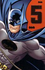 5th Birthday Card - Batman Age 5 Five
