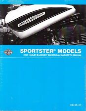 2007 Harley Sportster Electrical Diagnostic Repair Service Manual 99495-07