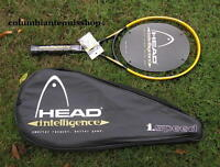 New Head Intelligence speed i.Speed Tennis Racket 102 Midplus strung 1 2 3 4 5