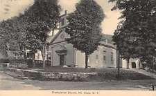 Mt Kisco New York Presbyterian Church Street View Antique Postcard K34212