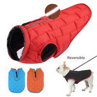 Hundekleidung Französische Bulldogge Chihuahua Wintermantel Outfit Weste S-XL