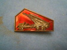 """PIN SPILLA """" MISSILE """" CCCP RUSSIA URSS USRR  VINTAGE S-O-6"""