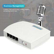 Telefon Recorder Digitale Audio Voice Recorder USB mit 2-Kanal Aufnahmegerät