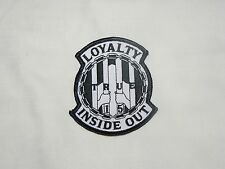 Outlaws MC 1%er SYLO AOA Loyalty Inside Out 15 Patch support your local outlaws