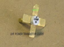 CD2087 RUGGED HIGH GAIN UHF LINEAR RF POWER TRANSISTOR 1W PEP/3W AB 500MHZ 28V