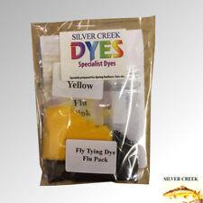 "Silver Creek Fly Tying Dye ""The Flu Colour Kit"" 3x10g Packs Make Popular Colours"