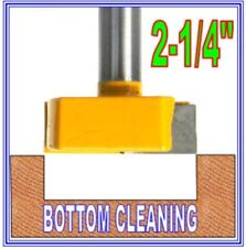 "1 pc 1/2"" Shank 2-1/4""  Diameter Bottom Cleaning Router Bit  sct-888"