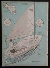 Sailboard Sailing FUN FISH Surfboard EZ How-To build PLANS Styrofoam
