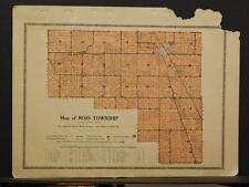 Indiana Clinton County MapRoss Township 1919 Y8#67