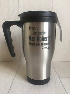 Personalised top quality thermal cup insulated cup perfect teacher gift