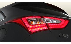 LED Rear Tail Lights Lamp Assy 4p For 2012 2016 Hyundai Elantra GT i30