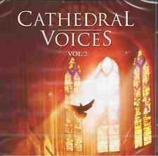 CATHEDRAL VOICES 2 - Great Sacred Choruses - 2CDs NEU Mozart Purcell Vivaldi