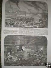 Mare Et Co. 's Iron Ship Building Blackwall London 1854