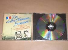 CD RARE / LES VIEILLES CHANSONS FRANCAISES / TRES BON ETAT