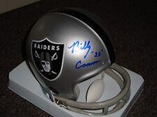 Billy Cannon autographed Oakland Raiders mini helmet