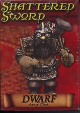 Shattered Sword Dwarf Army Deck MINT Fantasy Battle Card Game