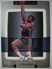 2003-04 UPPER DECK FINITE # 195 WES UNSELD , BULLETS !! BOX 33