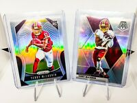 2019-2020 Terry McLaurin 8 Card Lot (Prizm Silver RC, Mosaic Silver, Legacy RC)